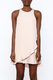 Bio Blush Pink Tulip Dress - Side cropped