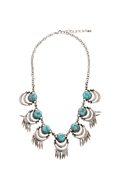 Bio Turquoise Statement Necklace - Product List Image