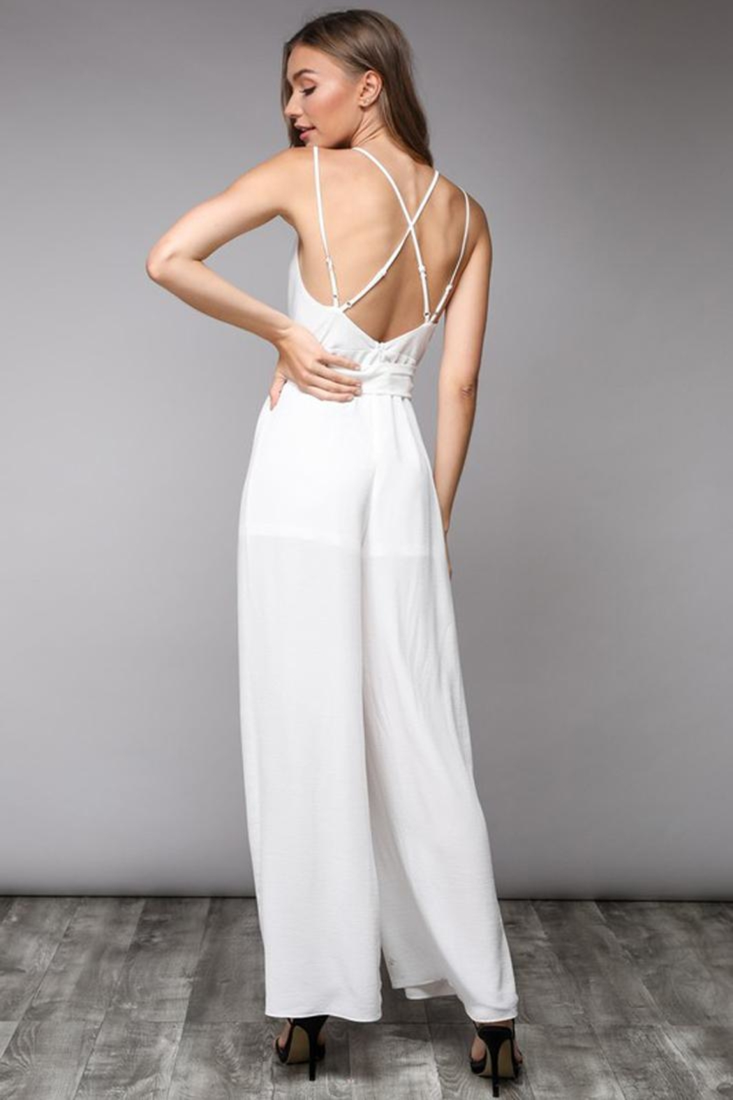Bio Wide Leg Jumpsuit - Front Full Image
