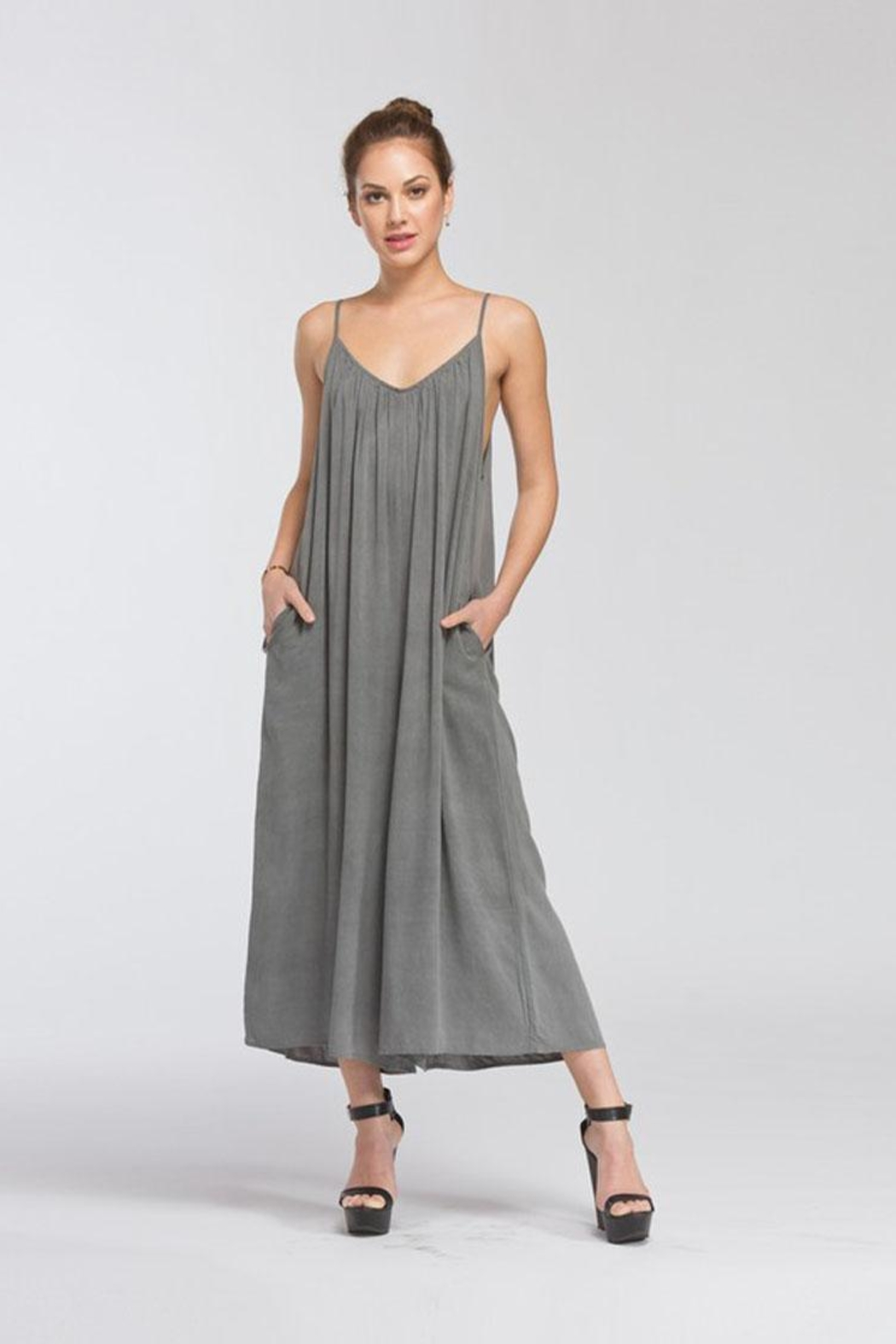4264477e2dc6 Bio Wide Leg Romper from Brooklyn by BB Collective — Shoptiques