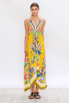 Shoptiques Product: Yellow Halter Dress