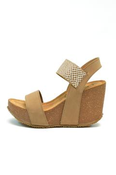 Shoptiques Product: Edgy Platform Wedge