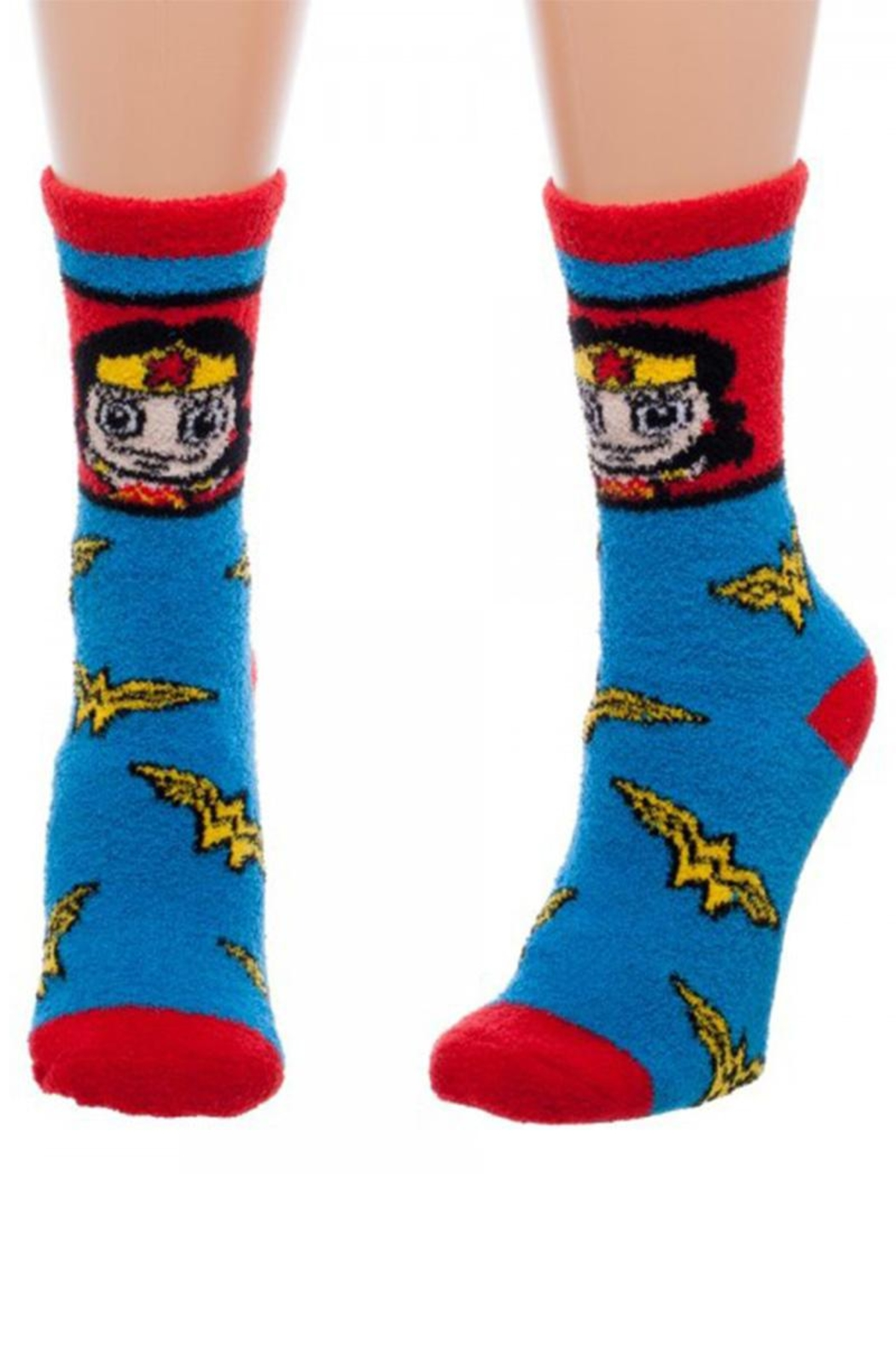 Bioworld Wonder Woman Socks - Front Cropped Image
