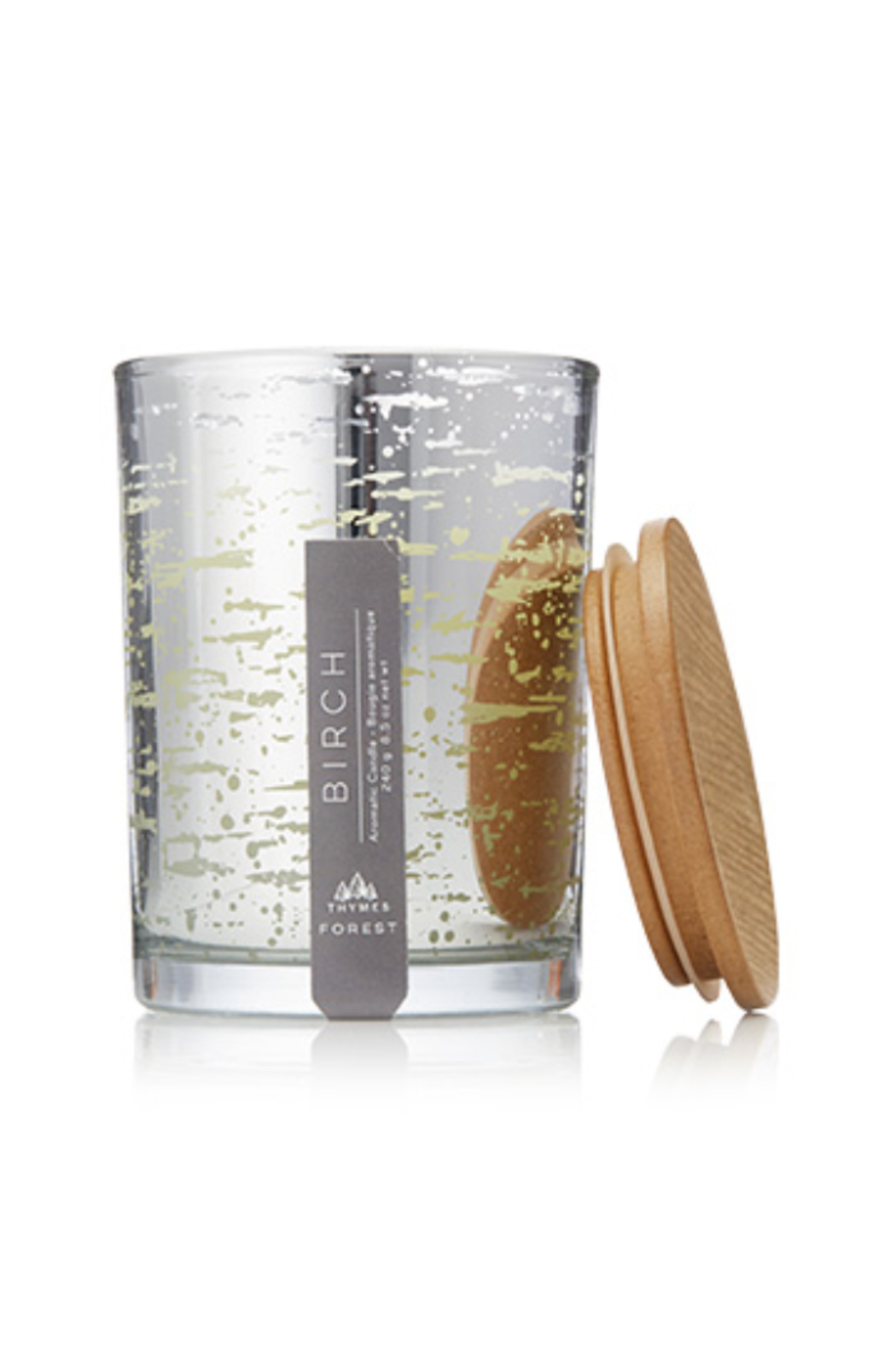 Thymes BIRCH POURED CANDLE-FOREST COLLECTION - Main Image