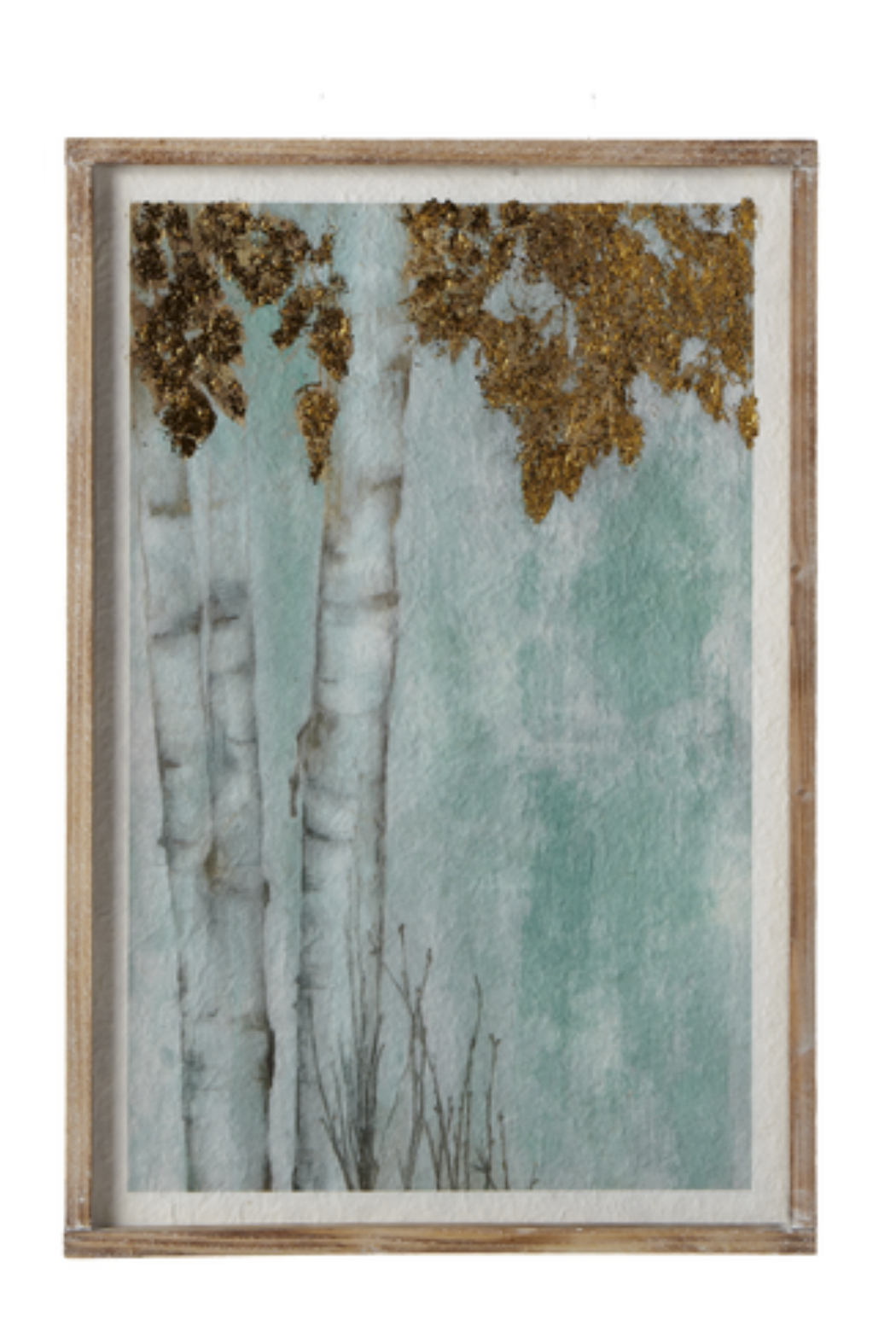 Ganz Birch Tree Print - Front Cropped Image