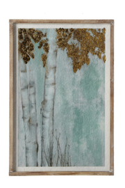 Ganz Birch Tree Print - Front cropped