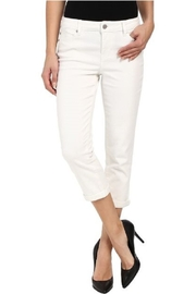 Liverpool Birch White Michelle Capri - Front cropped
