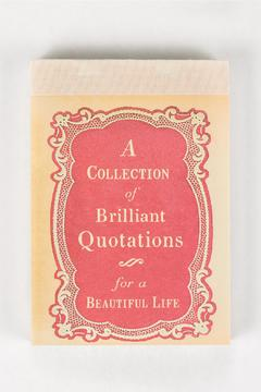birchalley Collection Brilliant Quotations - Product List Image