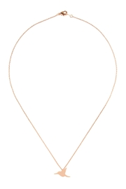 Riah Fashion Bird-Cast-Pendant-Necklace - Front cropped