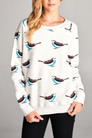 LA Soul Bird-Print Sweatshirt - Product Mini Image