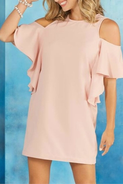 Shoptiques Product: Birdie Cold-Shoulder Dress