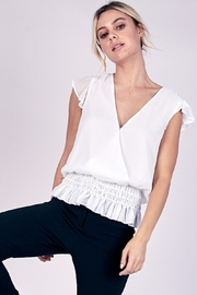 Do + Be  Birdie Peplum Top - Product Mini Image