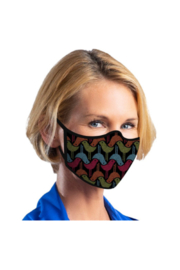 DiJore Birds and Bubbles Face Mask - Product Mini Image
