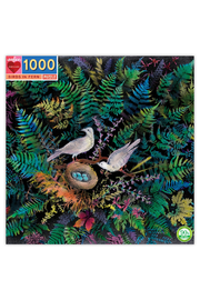 Eeboo Birds In Fern 1000 Piece Puzzle - Product Mini Image