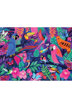 Crocodile Creek Birds Of Paradise 500 Piece Puzzle - Product List Image