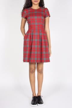 Shoptiques Product: Fitted Plaid Dress