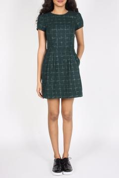 Shoptiques Product: Green Flannel Dress