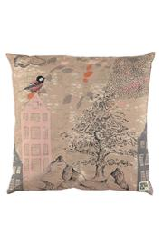 Birds on the Run Sketched Pillow Case - Product Mini Image