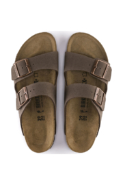 Birkenstock Arizona Birkibuc Medium Width in Mocha - Other
