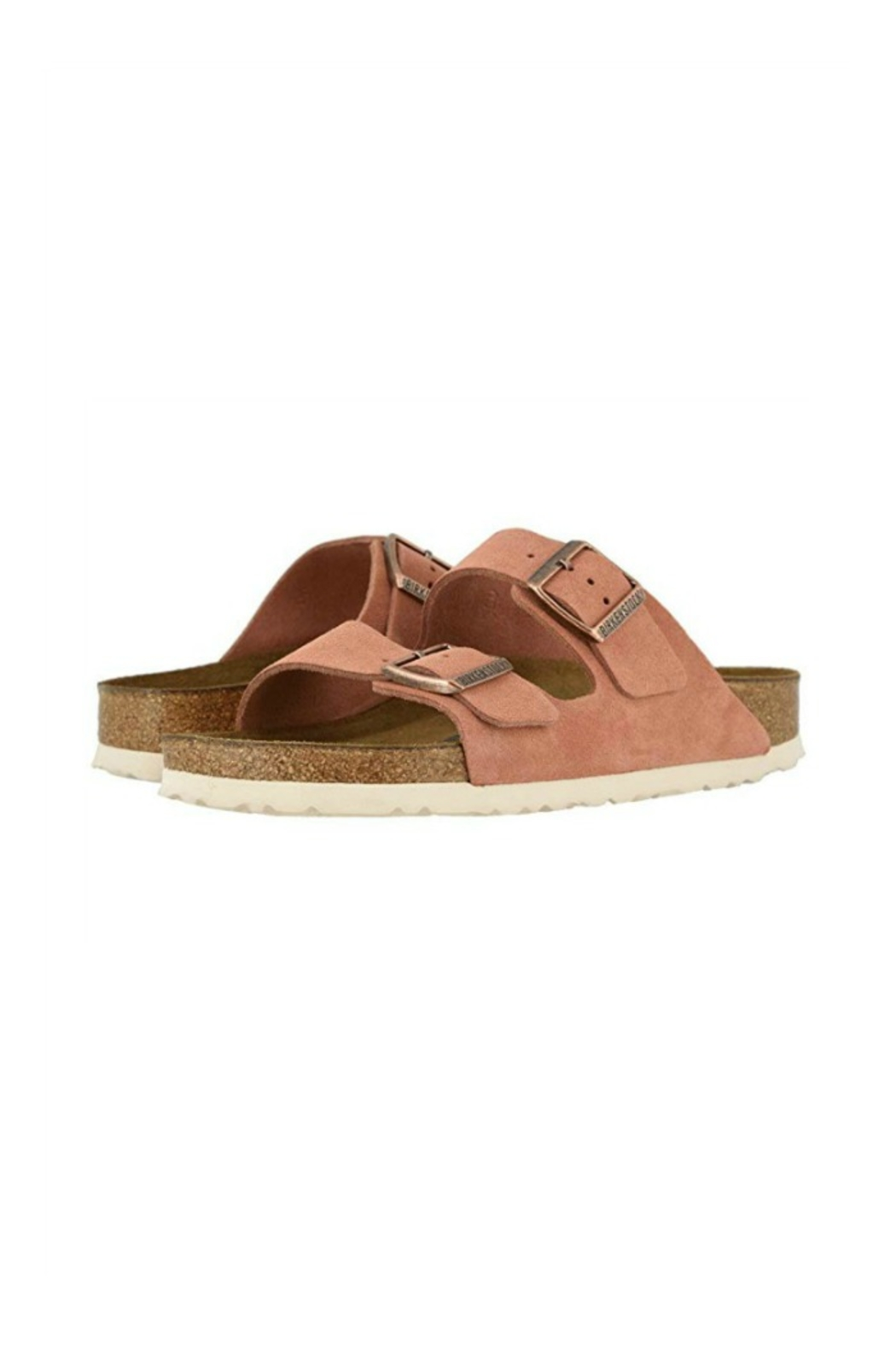 Birkenstock Arizona BS in Earth Red - Back Cropped Image