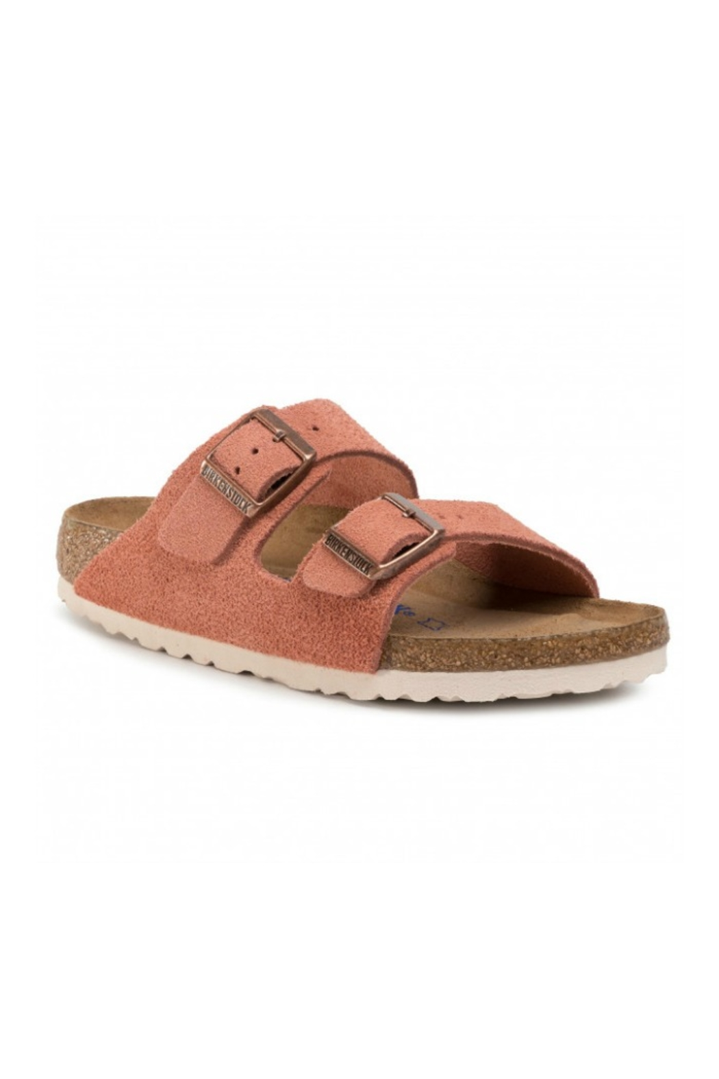 Birkenstock Arizona BS in Earth Red - Front Cropped Image