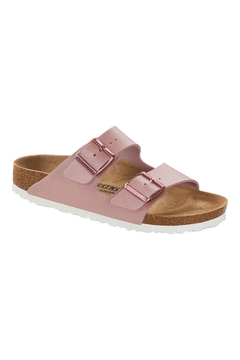 Birkenstock Arizona BS Narrow Width in ICy Metallic Old Rose - Product List Image