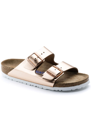 Birkenstock Arizona BS Narrow Width in Metallic Copper - Product Mini Image