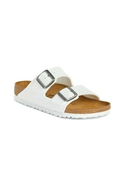 Birkenstock Arizona BS Regular Width in White - Product Mini Image