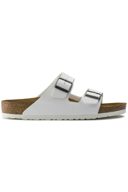 Birkenstock Arizona BS Regular Width in White - Front full body