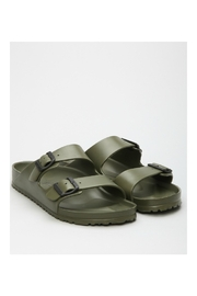 Birkenstock Arizona EVA Regular Width in Khaki - Front full body