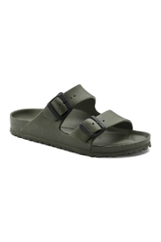 Birkenstock Arizona EVA Regular Width in Khaki - Front cropped