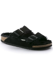 Birkenstock Arizona Shearling in Black - Product Mini Image