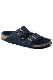Birkenstock Arizona Fur Narrow Width in Night - Product Mini Image
