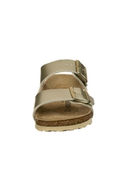 Birkenstock Arizona Kids in Gold - Back cropped