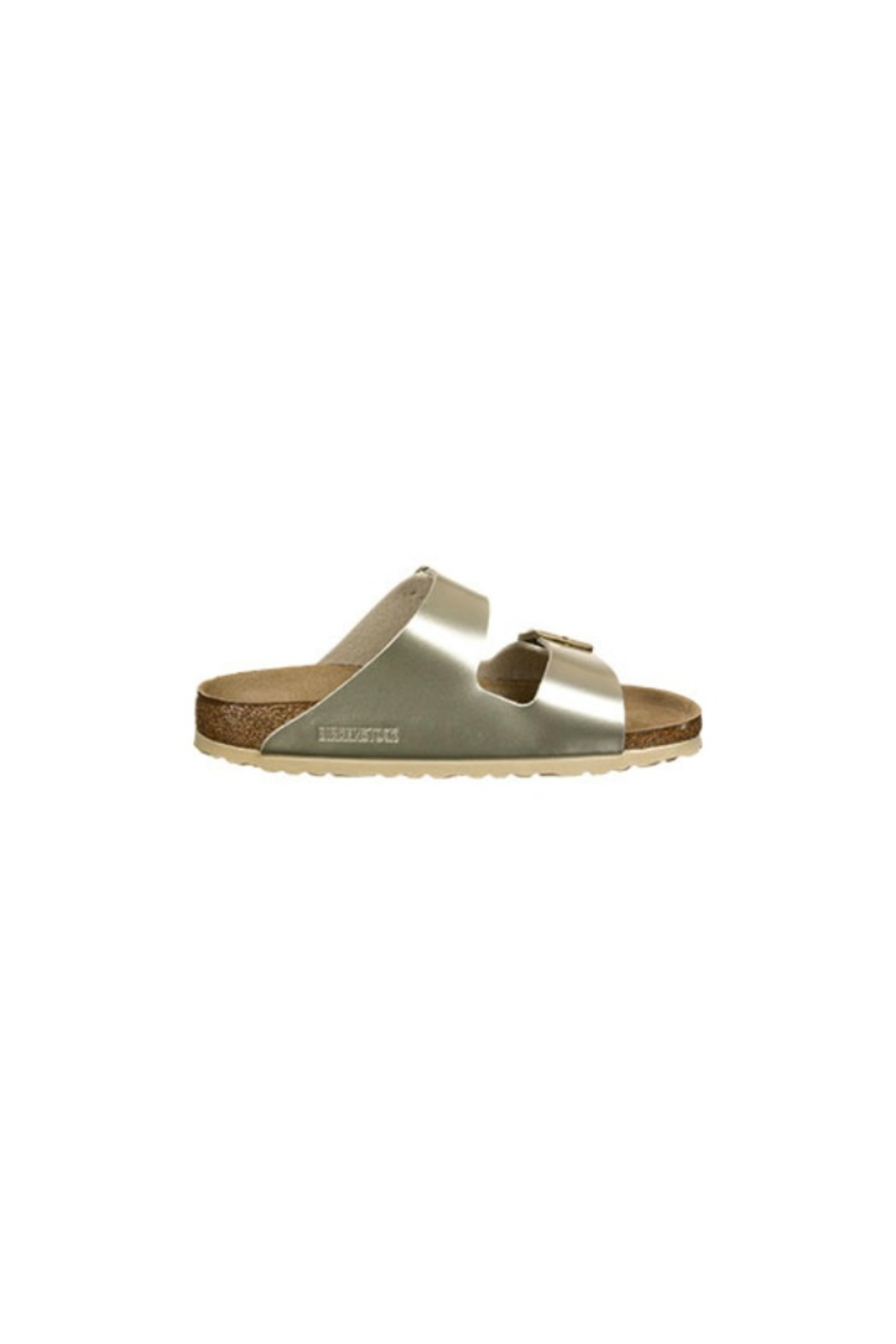 Birkenstock Arizona Kids in Gold - Front Full Image