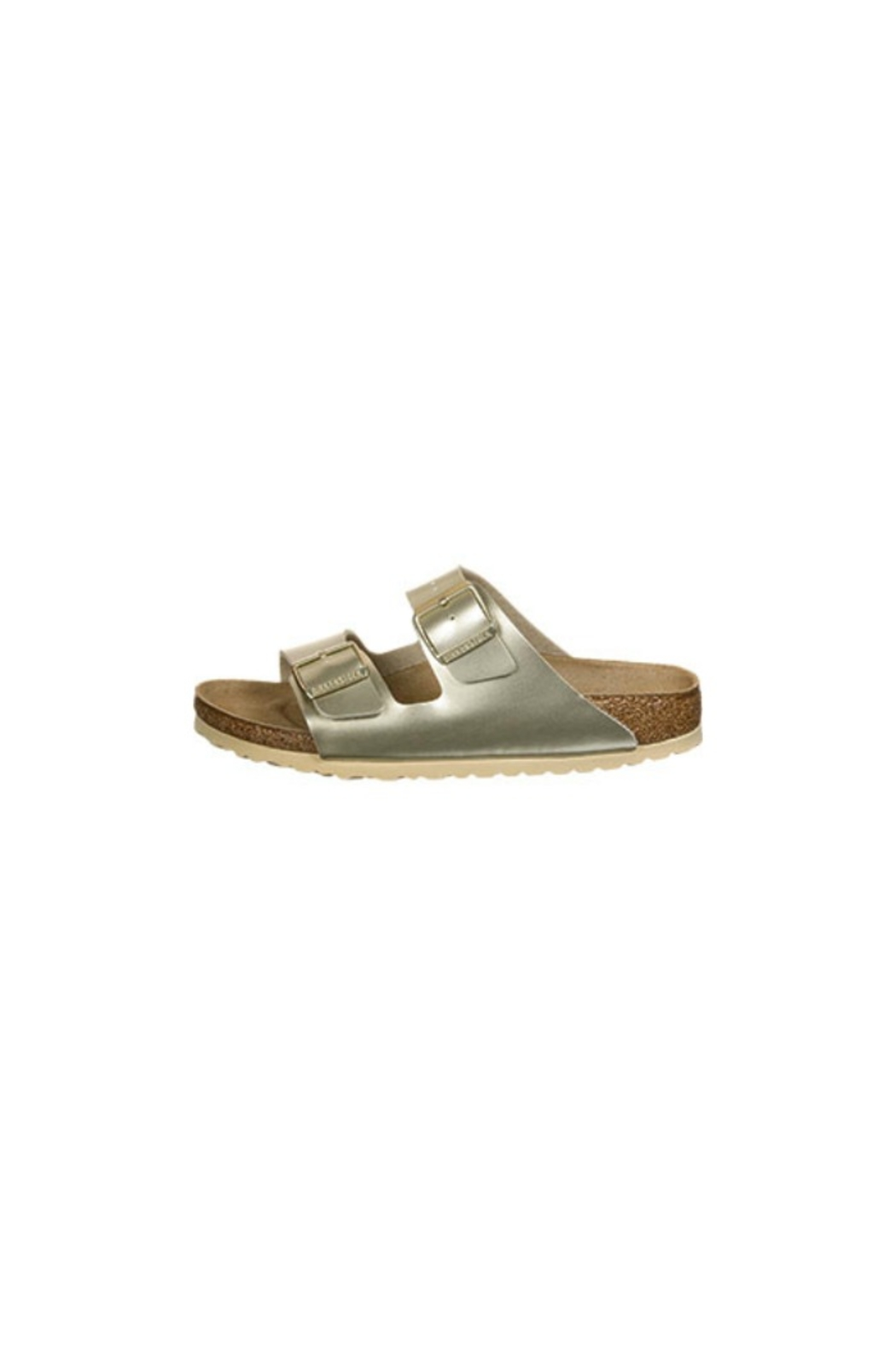 Birkenstock Arizona Kids in Gold - Side Cropped Image