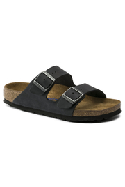 Birkenstock Arizona Oiled Leather in Black - Product Mini Image