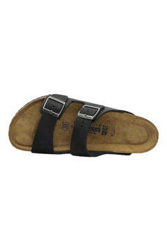Birkenstock Arizona Oiled Leather in Black - Alternate List Image
