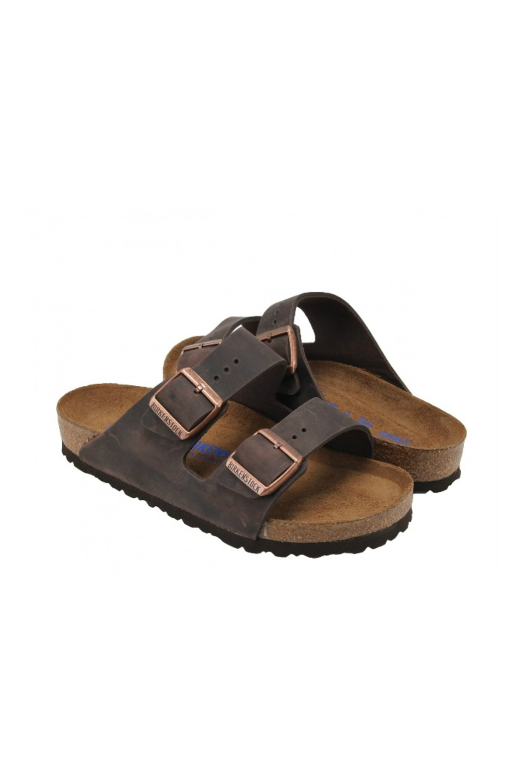 Birkenstock BIRKENSTOCK Arizona Regular Width in Habana - Side Cropped Image