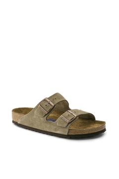 Shoptiques Product: Birkenstock Arizona Soft Narrow Width in Taupe