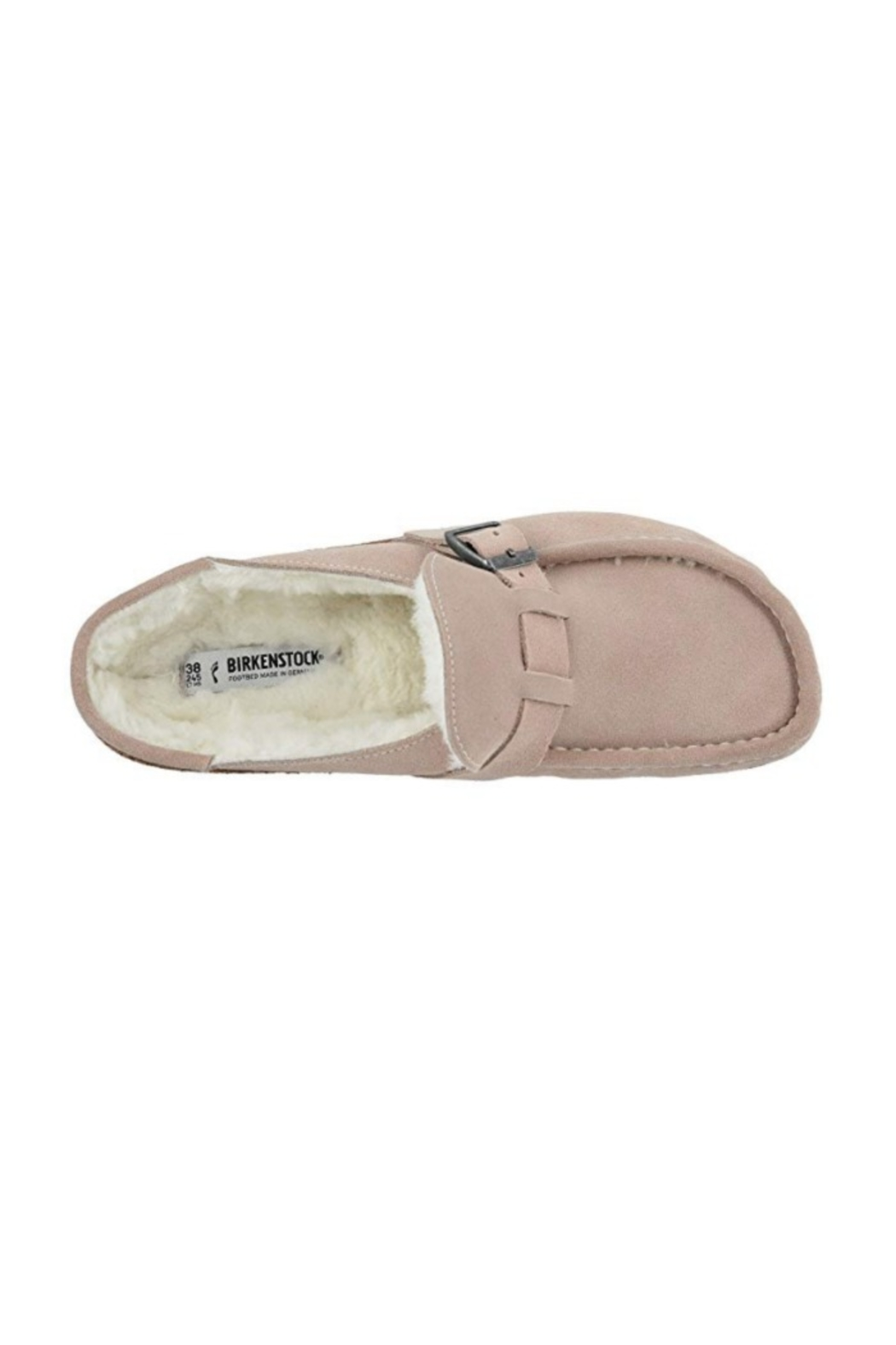 Birkenstock Buckley Suede Leather Shearling - Front Full Image