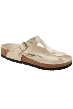 Birkenstock Gizeh in Eggshell Python - Product List Image