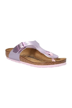 Shoptiques Product: Birkenstock Gizeh Kids in Electric Metallic Lilac