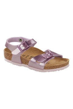 Shoptiques Product: Birkenstock Kids Rio in Electric Metallic Lilac