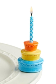 Nora Fleming Birthday Cake Mini - Product Mini Image