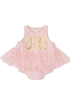 Shoptiques Product: Birthday Fashion Onesie