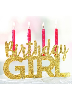Shoptiques Product: Birthday Girl Cake-Topper
