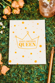 Carla Sue Greeting Cards Birthday Queen Card - Product Mini Image