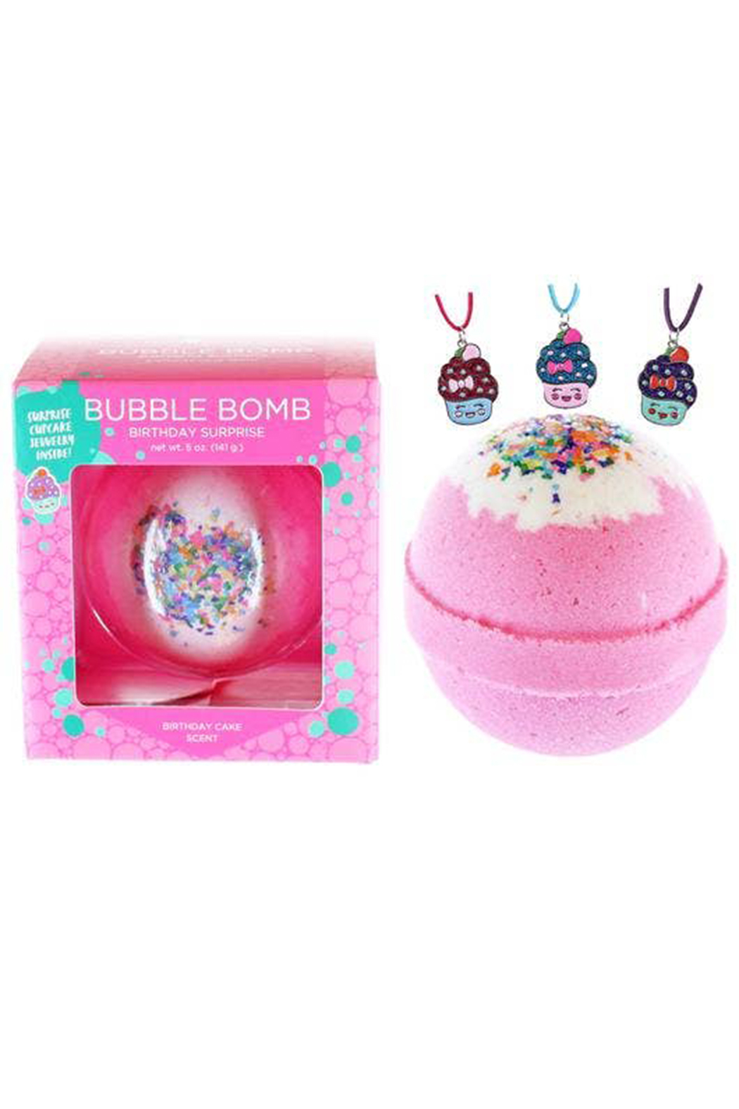 Two Sisters  Birthday Surprise Bubble Bath Bomb - Main Image