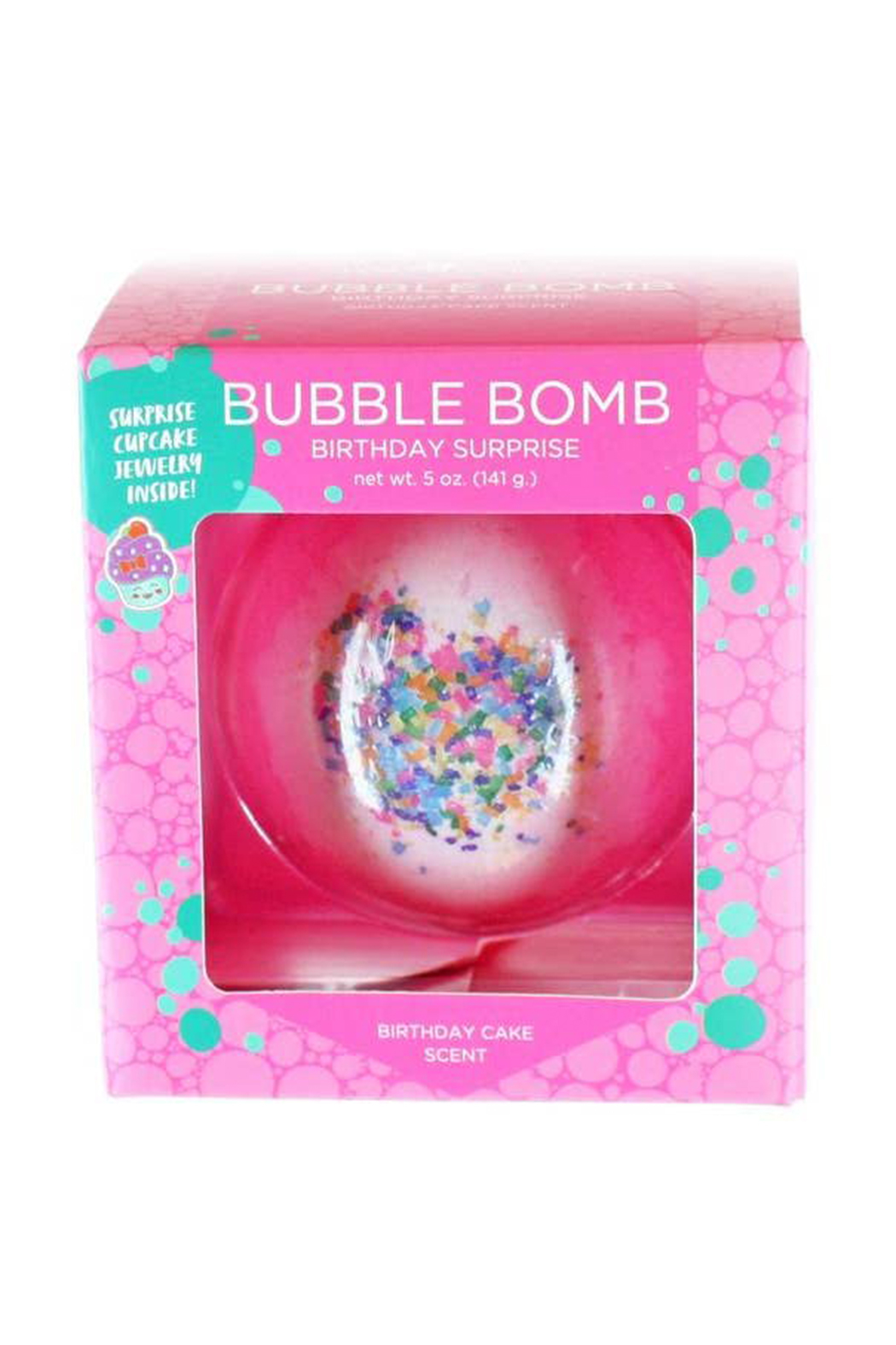 Two Sisters  Birthday Surprise Bubble Bath Bomb - Side Cropped Image